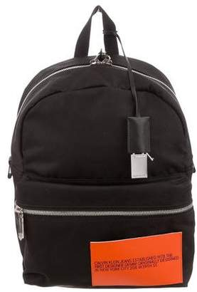 Calvin Klein Canvas Patch Backpack