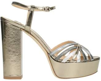 The Seller Plateau Gold Leather Sandals