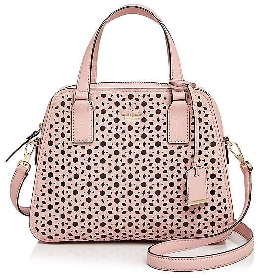 Kate Spade kate spade new york Cameron Street Little Babe Perforated Leather Satchel