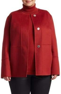 Lafayette 148 New York Lafayette 148 New York, Plus Size Rayen Reversible Jacket
