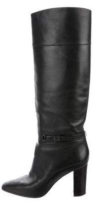 Christian Louboutin Leather Knee-Length Boots