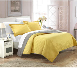 Chic Home Teresa 3 Piece Queen Quilt Set Bedding