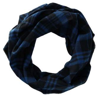 David & Young Women's Plaid Woven Infinity Loop Scarf