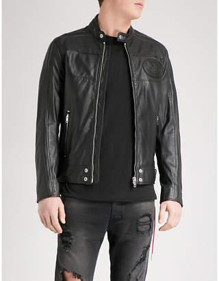 Diesel L-Street leather jacket