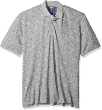 Lee Men's Stone Short Sleeve Polo, Grey