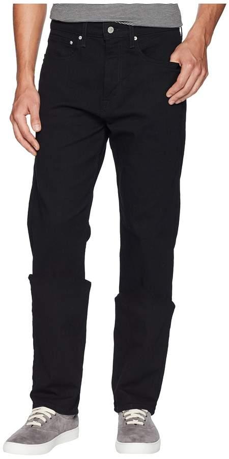 Calvin Klein Jeans CKJ 037 Relaxed Straight Jeans in Forever Black