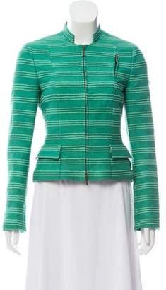 Akris Punto Silk Textured Blazer