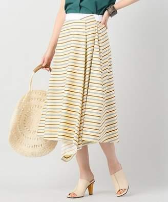 Journal Standard (ジャーナル スタンダード) - JOURNAL STANDARD L'ESSAGE 【JIL SANDER NAVY/ジルサンダーネイビー】pajama striped cotton :スカート