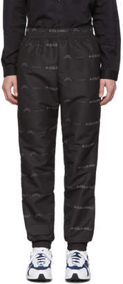 A-Cold-Wall* A Cold Wall* Black Basic Logo Lounge Pants