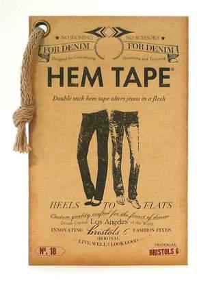 NIPPIES by Bristols Six Double-Stick No Iron No Sew Fashion Hem Tape for Denim