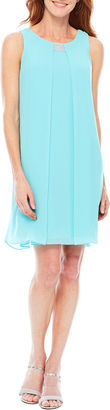 Msk Sleeveless Trapeze Dress $80 thestylecure.com