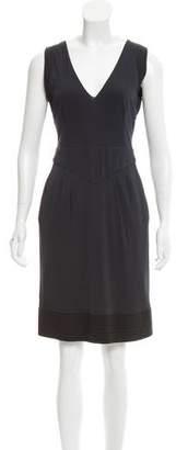 Fendi Sleeveless Silk Dress