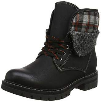 Marco Tozzi Women's 26713-31 Ankle Boots Black Ant.Comb 096