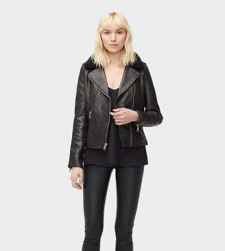 Null Andee Leather Cycle Jacket