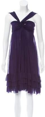 Jean Paul Gaultier Soleil Sleeveless Mesh Dress