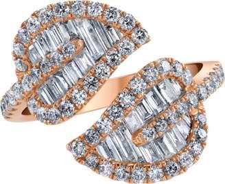 Anita Ko Diamond Leaf Ring