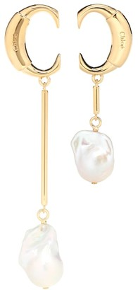 Chloé Darcey baroque pearl earrings