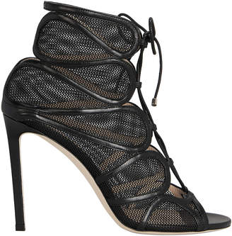 Jimmy Choo Malena Mesh Booties