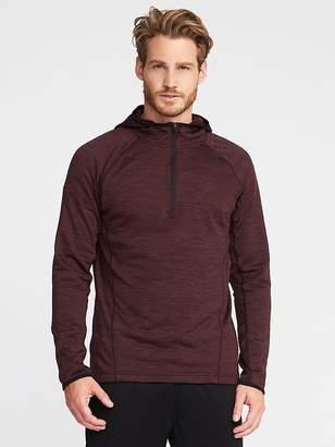 Old Navy Go-Warm Textured-Fleece 1/2-Zip Hoodie for Men