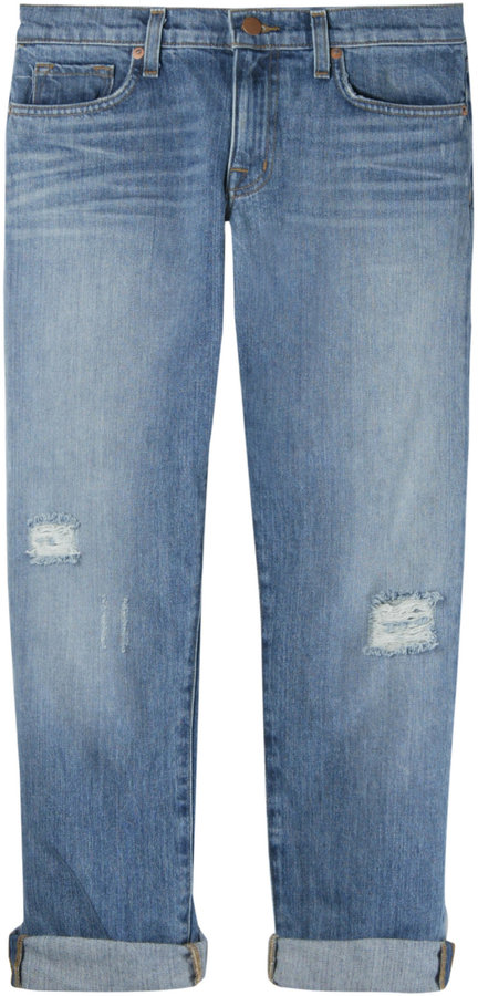 J Brand Lolita Boyfriend Jeans