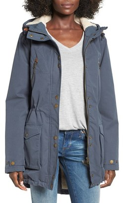 Volcom 'Walk On' Hooded Parka $155 thestylecure.com