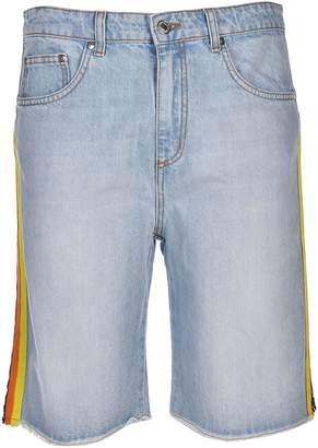 MSGM Side Stripe Shorts