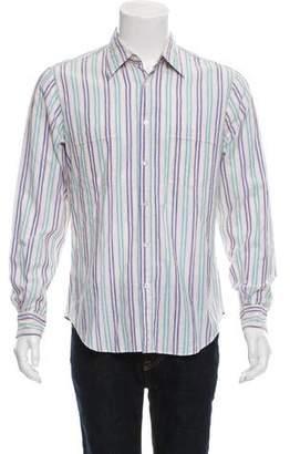Missoni Striped Button-Up Shirt