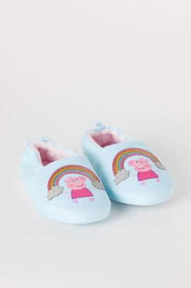 H&M Soft Slippers - Blue