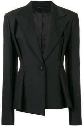Helmut Lang peplum style blazer