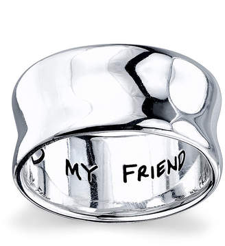 FINE JEWELRY Inspired Moments Sterling Silver My Sister, My Friend Ring