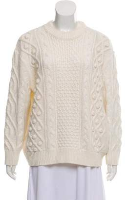 Demy Lee Wool Cable Knit Sweater