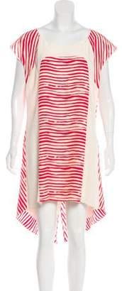 Rebecca Minkoff Silk Striped Dress