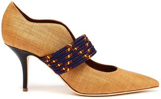 Malone Souliers BY ROY LUWOLT Mannie woven pumps