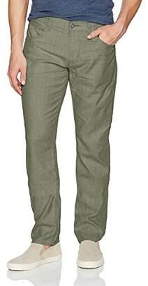 Hudson Jeans Men's Blake Slim Straight Linen Pant