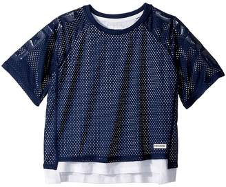 Converse Double Layer Mesh Raglan Girl's Clothing