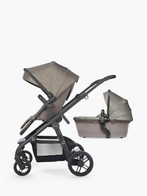 Silver Cross Coast Pushchair and Carrycot, Tundra