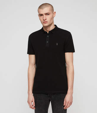 AllSaints Clash Polo Shirt