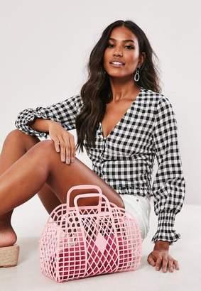 Missguided Basket Bag