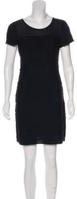 Diane von Furstenberg Pleated Mini Dress