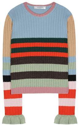 Valentino Striped wool sweater