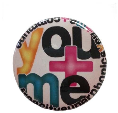 Freecity You + Me Pin