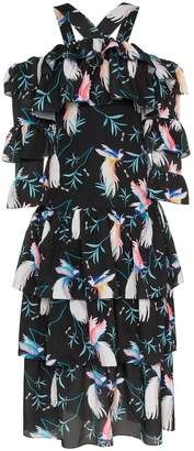 Borgo De Nor sandra tiered floral maxi dress