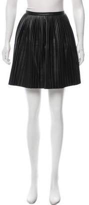 Tibi Pleated Mini Skirt