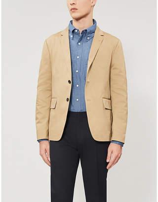 6105f907aae Thom Browne Signature striped-sleeve regular-fit cotton shirt