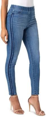 Liverpool Chloe Side-Stripe Skinny Jeans in Montecito
