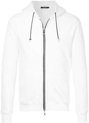 GUILD PRIME drawstring detail hoodie