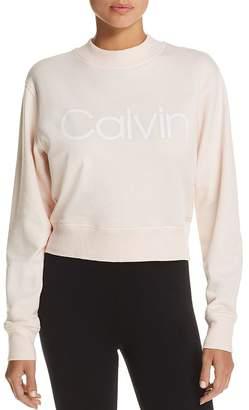 Calvin Klein Logo French Terry Sweatshirt
