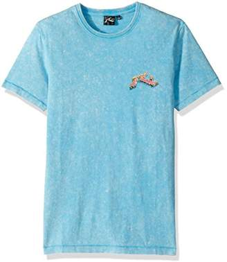 Rusty Men's Original Logo Traditional Fit Short Sleeve T-Shirt
