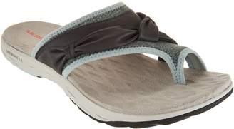 Merrell Leather Sport Thong Sandals - Vesper Thong