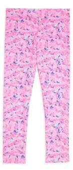 Vineyard Vines Little Girl's & Girl's Whale Swirl Knit Leggings